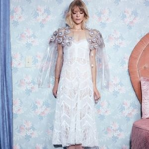 NWT FL&L JAIME KING LA BELLA MIDI DRESS